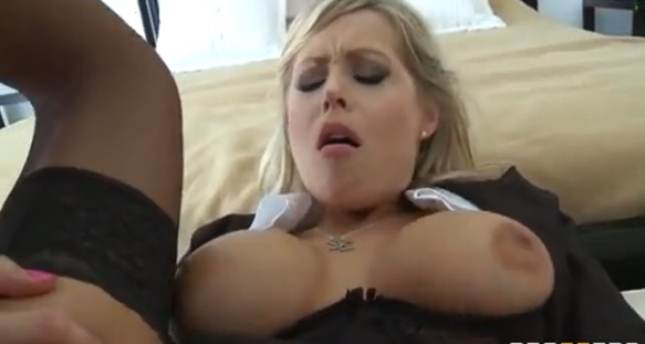 Big tits huge strapon lesbians