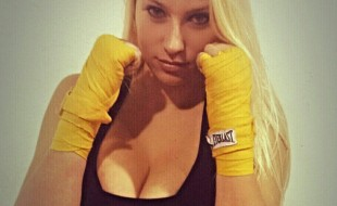 Brye Anne Rusillo de MMA ster met dikke tieten
