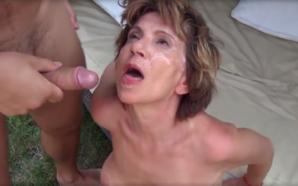 oma porno